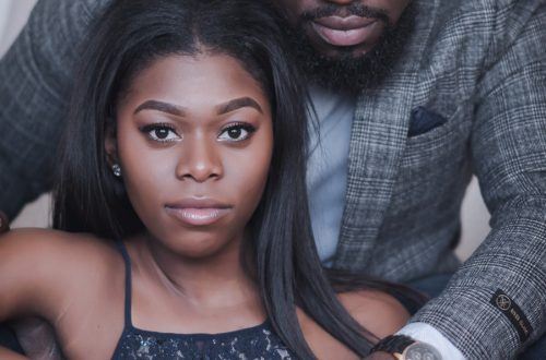 black couple engagement shoot 2 500x330 - Couples Gallery