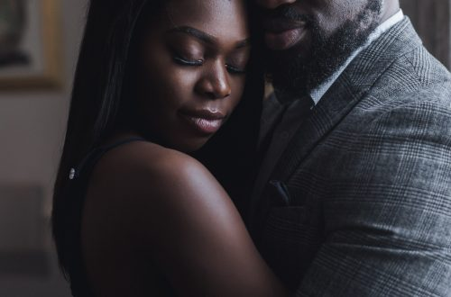 black couple engagement shoot 4 500x330 - Couples Gallery