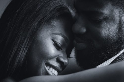 black couple engagement shoot 5 500x330 - Couples Gallery
