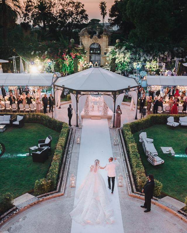 wedding in Palazzo Parisio Malta