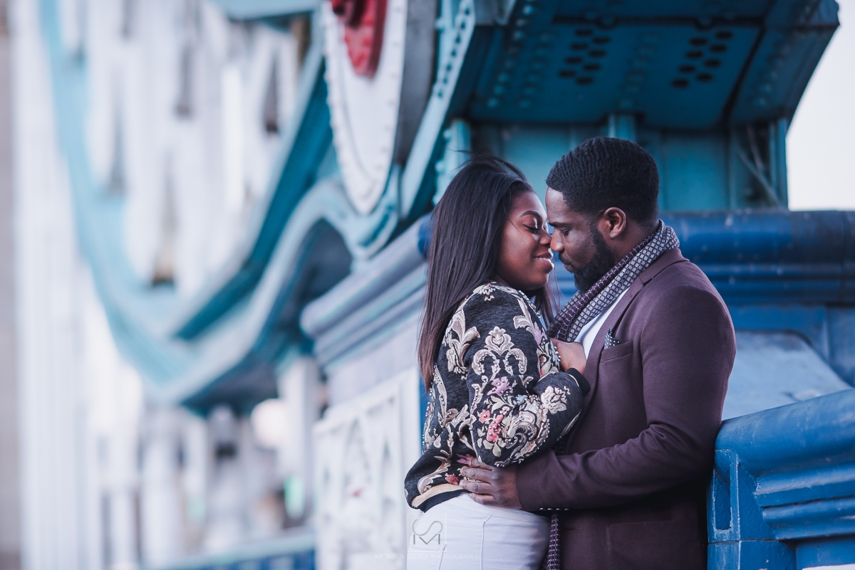 pre wedding shoot in London Bridge
