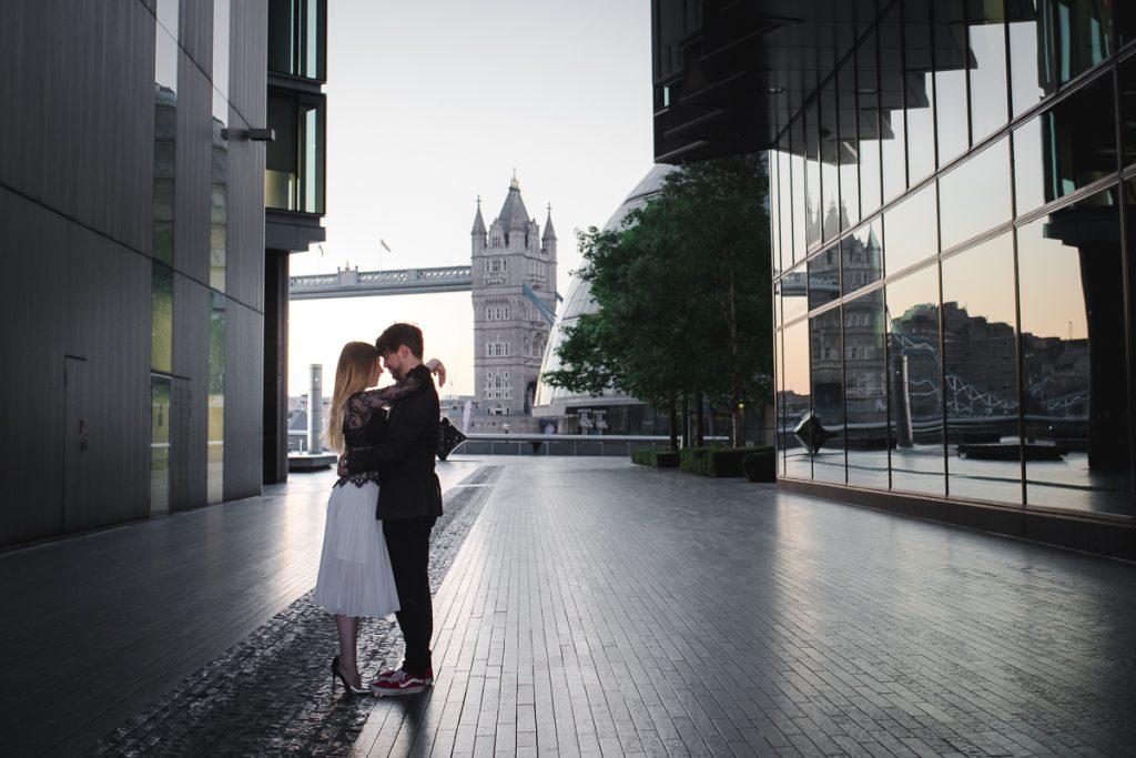 Romantic Tower Bridge London Engagement shoot 1 1024x683 - Romantic Tower Bridge London Engagement Shoot