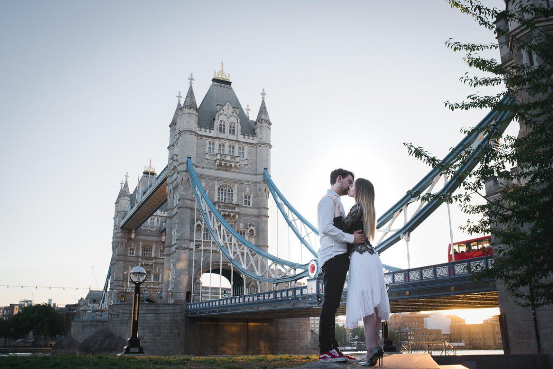 engagement session in Tower Tridge, Sesja narzeczenska w Londynie,