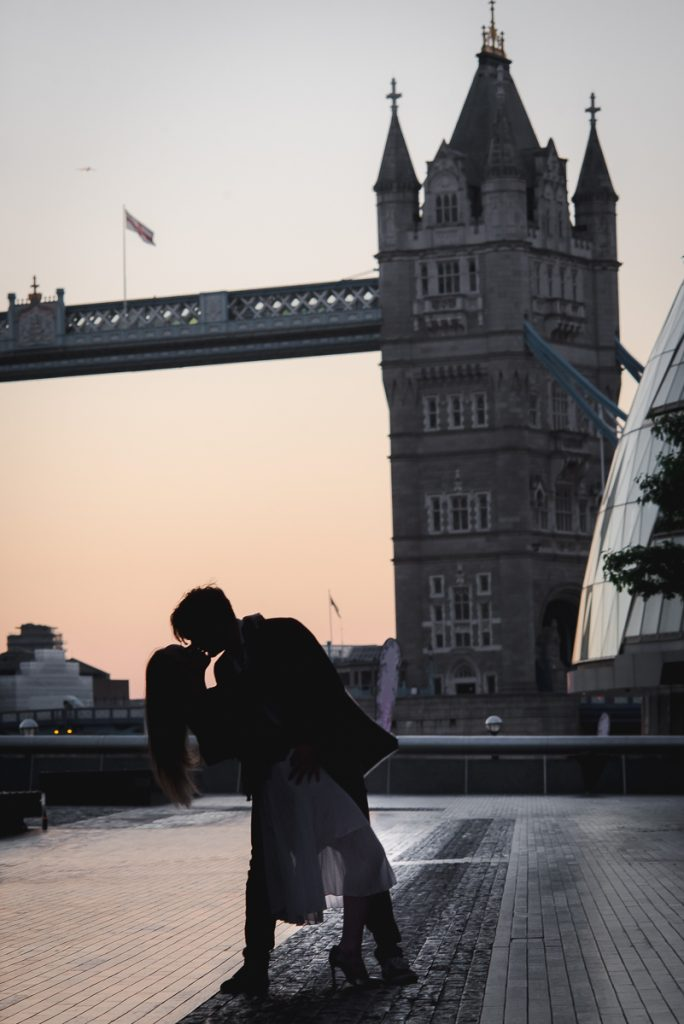 Romantic Tower Bridge London Engagement shoot 2 684x1024 - Romantic Tower Bridge London Engagement Shoot