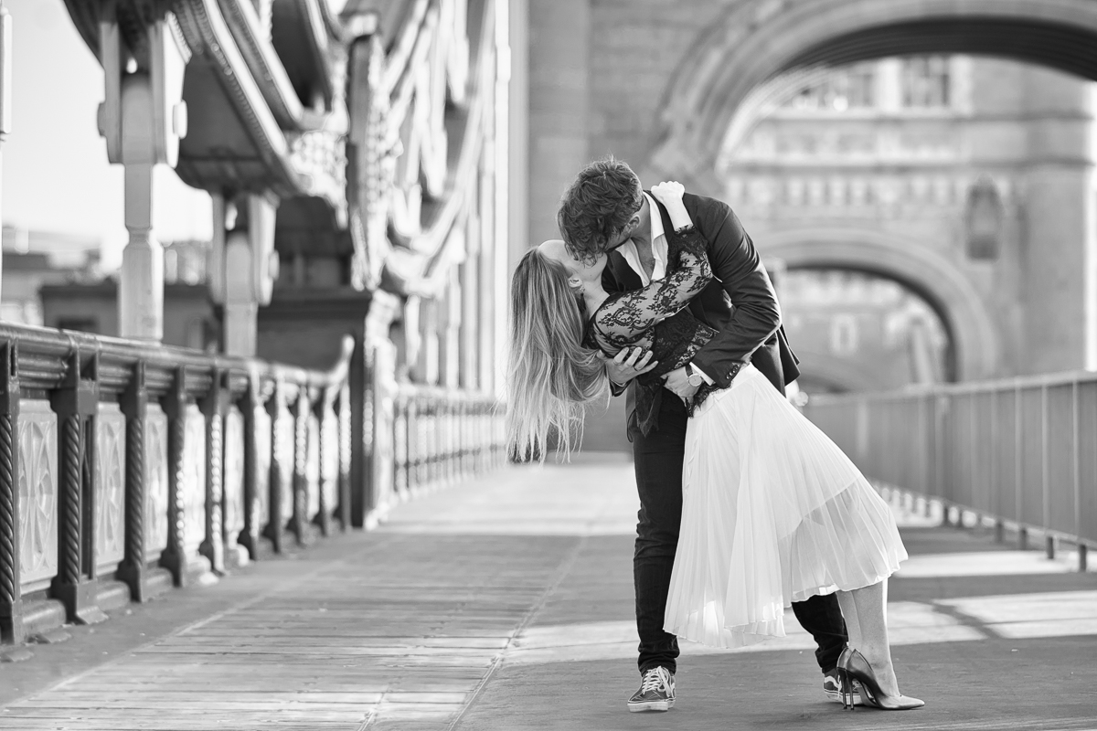 Romantic Tower Bridge London Engagement shoot 24 - 10 perfect ways to use engagement photos