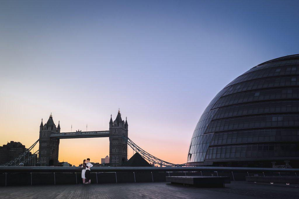 Romantic Tower Bridge London Engagement shoot 5 1024x683 - Romantic Tower Bridge London Engagement Shoot