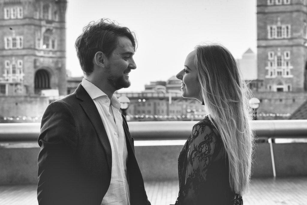 Romantic Tower Bridge London Engagement shoot 6 1024x684 - Romantic Tower Bridge London Engagement Shoot