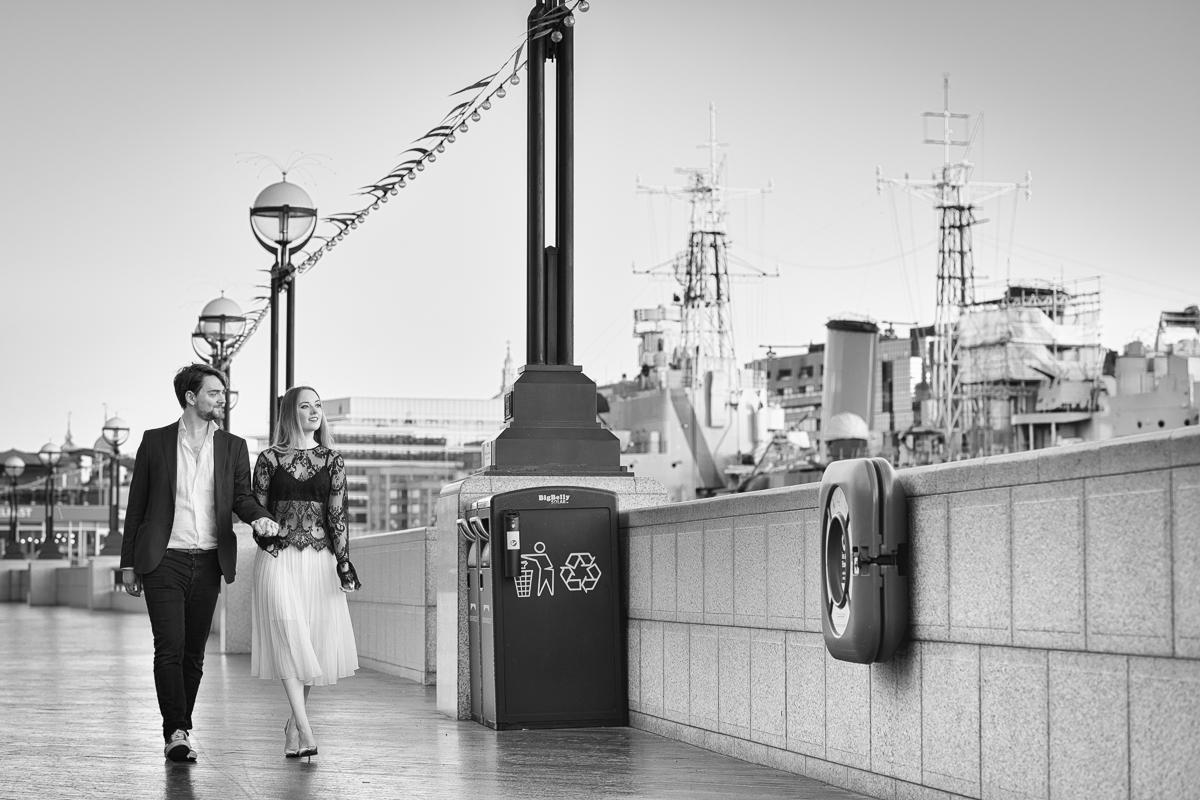 Romantic Tower Bridge London Engagement shoot 7 - Romantic Tower Bridge London Engagement Shoot