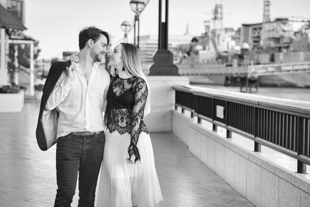 Romantic Tower Bridge London Engagement shoot 8 1024x684 - Romantic Tower Bridge London Engagement Shoot