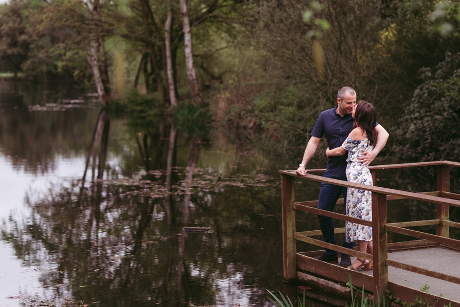 Gorgeous Stoke Place pre-wedding photo shoot