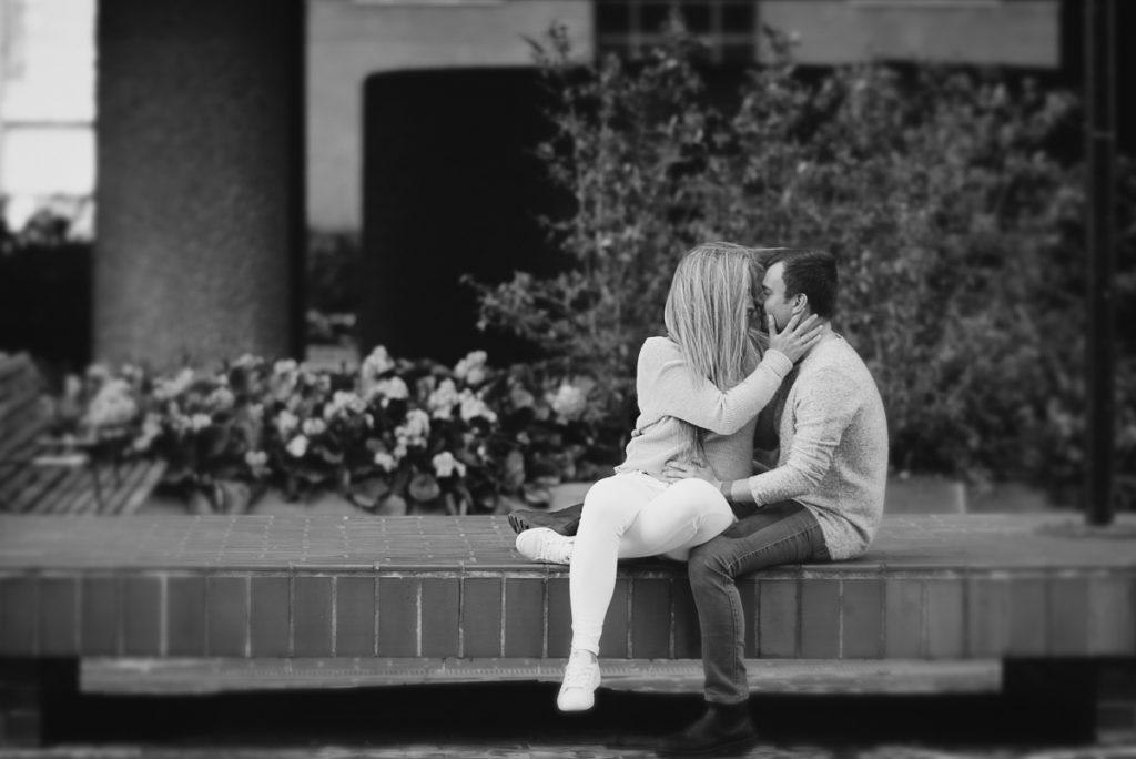 Engagement shoot at Barbican Conservatory 10 1024x684 - Engagement Photo shoot - Barbican | London