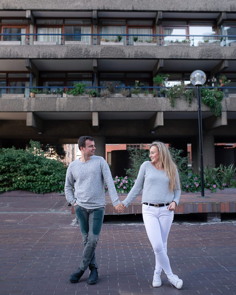 Engagement shoot at Barbican Conservatory 17 819x1024 - Engagement Photo shoot - Barbican | London