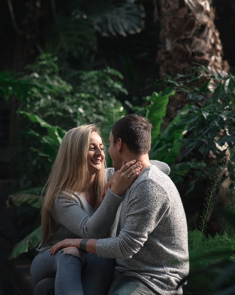 Engagement shoot at Barbican Conservatory 20 819x1024 - Engagement Photo shoot - Barbican   London