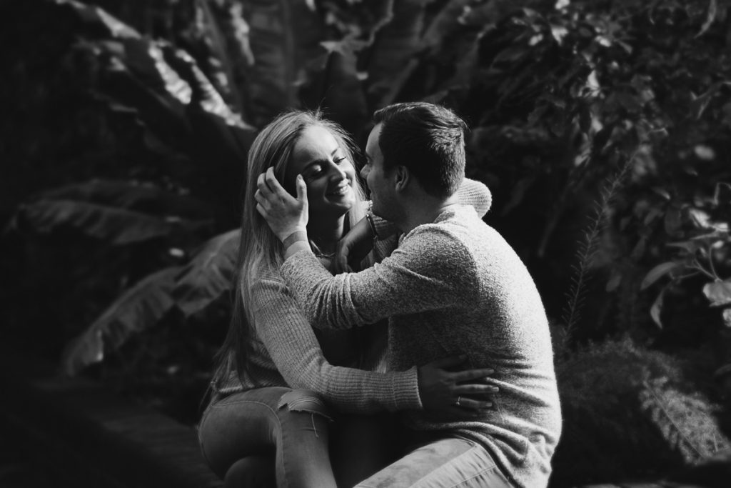 Engagement shoot at Barbican Conservatory 22 1024x683 - Engagement Photo shoot - Barbican | London