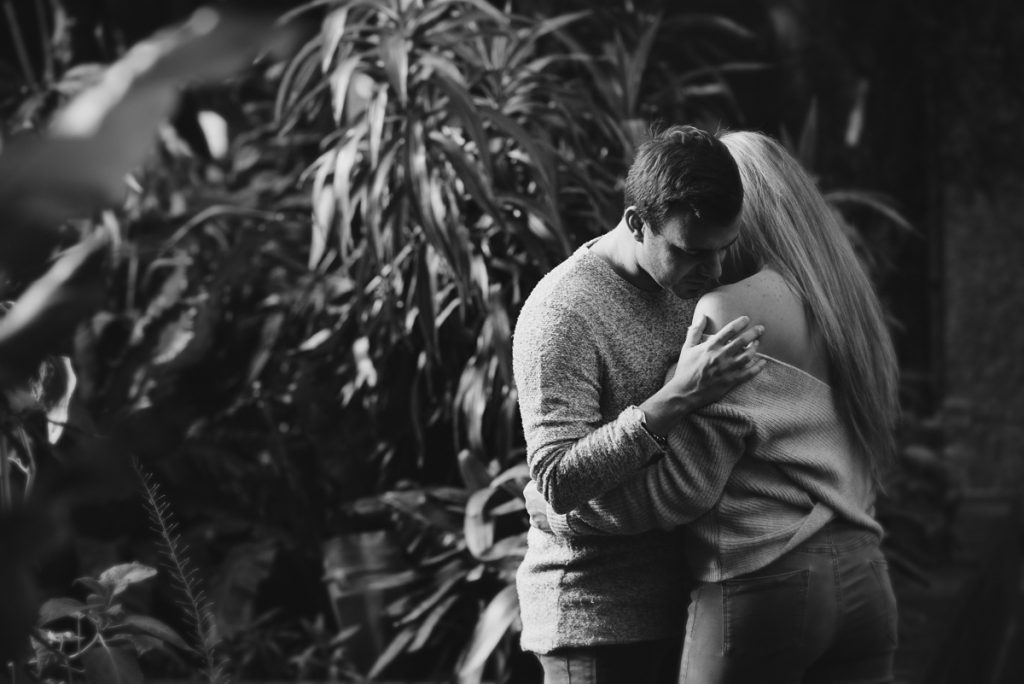 Engagement shoot at Barbican Conservatory 29 1024x684 - Engagement Photo shoot - Barbican   London