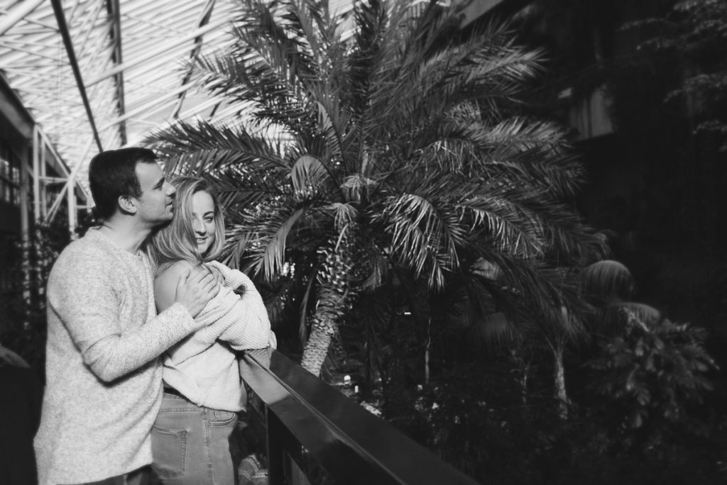 Engagement shoot at Barbican Conservatory 36 1024x684 - Engagement Photo shoot - Barbican | London