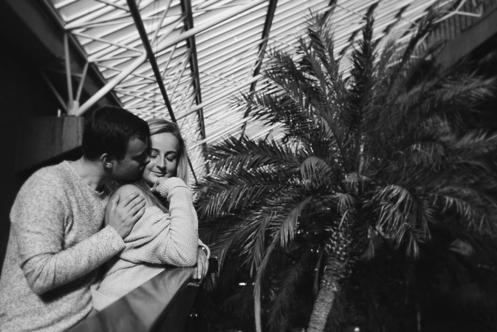 Engagement shoot at Barbican Conservatory 37 1024x684 - Engagement Photo shoot - Barbican   London