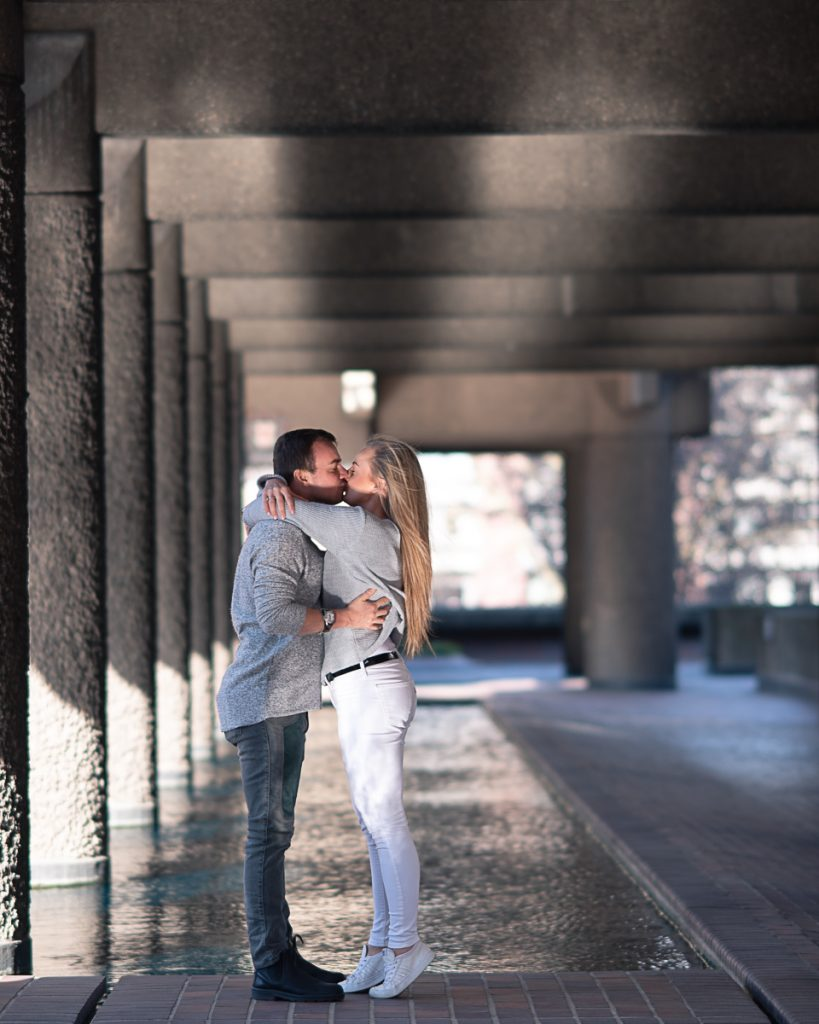 Engagement shoot at Barbican Conservatory 4 819x1024 - Engagement Photo shoot - Barbican | London
