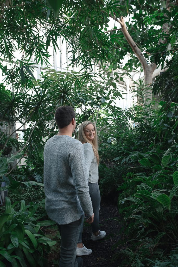 Engagement shoot at Barbican Conservatory 43 684x1024 - Engagement Photo shoot - Barbican | London