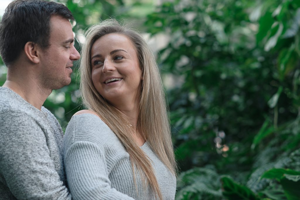Engagement shoot at Barbican Conservatory 45 1024x684 - Engagement Photo shoot - Barbican   London