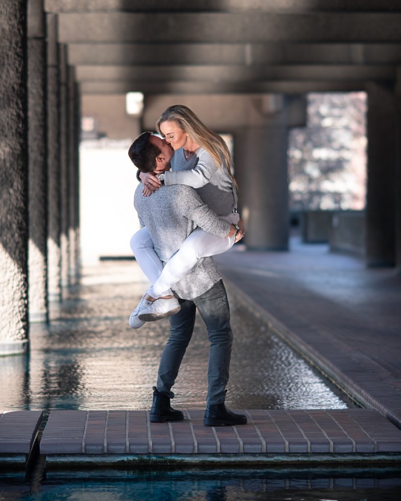 Engagement shoot at Barbican Conservatory 5 819x1024 - Engagement Photo shoot - Barbican | London