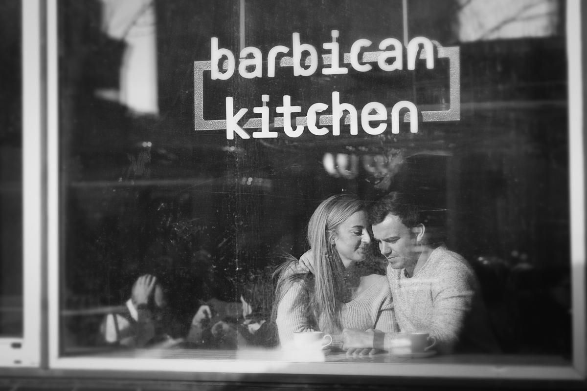Engagement shoot at Barbican Conservatory 61 - Engagement Photo shoot - Barbican | London