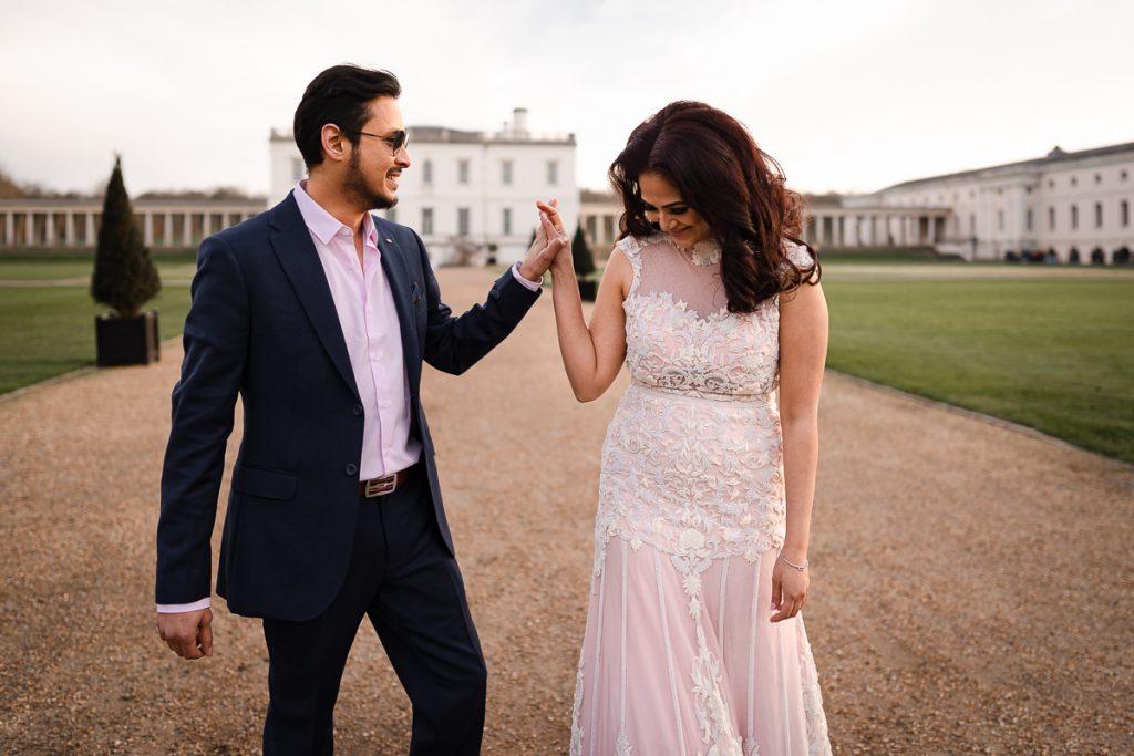Greenwich pre wedding shoot 16 1024x683 - London Pre Wedding Photography | Greenwich
