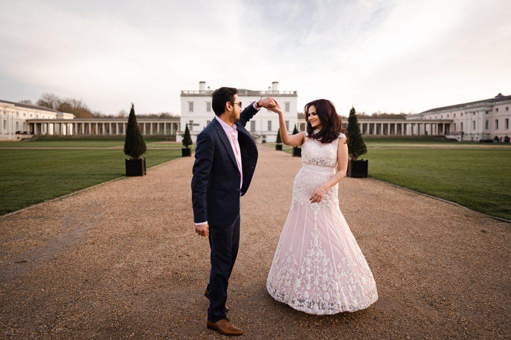 Greenwich pre wedding shoot 17 1024x683 - London Pre Wedding Photography | Greenwich