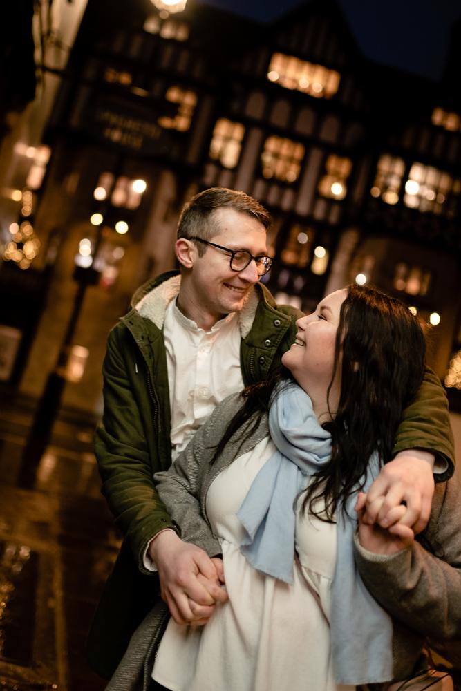 2020 12 03 Patrycja i Adrian 18 - How to plan Christmas Lights Couple Shoot   London