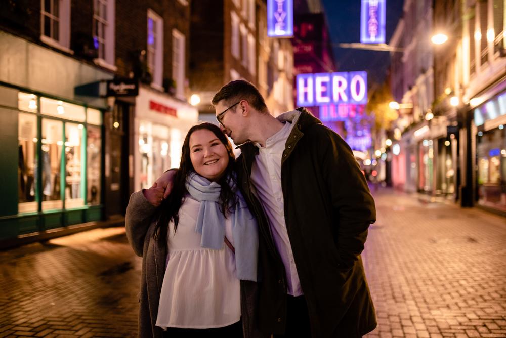 2020 12 03 Patrycja i Adrian 22 - How to plan Christmas Lights Couple Shoot   London
