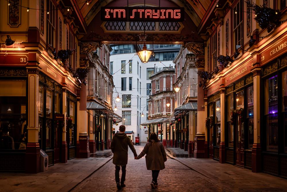 2020 12 03 Patrycja i Adrian 45 - How to plan Christmas Lights Couple Shoot   London