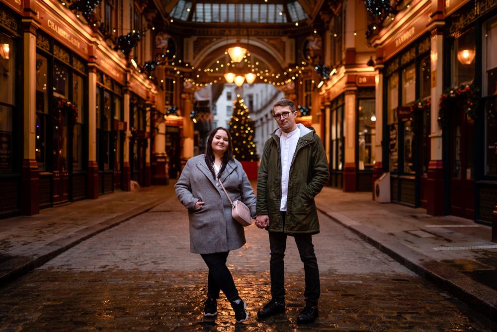 2020 12 03 Patrycja i Adrian 50 - How to plan Christmas Lights Couple Shoot   London